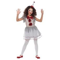 Clown Kostuum Vintage Meisje