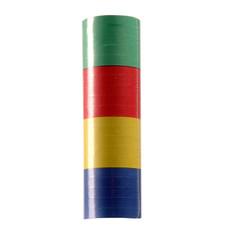 Rol papieren serpentines 4 kleuren