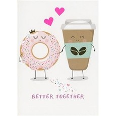 Valentijnskaart 'Better Together'