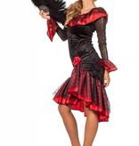 Spaanse jurk Angelita de luxe