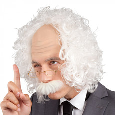 Pruik Opa/Professor