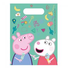 Peppa Pig Uitdeelzakjes (6st)
