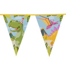 Vlaggenlijn Dino Party (6m)