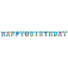 Letterslinger Happy Birthday Baby Shark (1,8m)