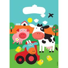 Uitdeelzakjes Boerderij Dieren (8st)