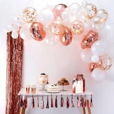 Luxe ballonboog set Rose goud Premium