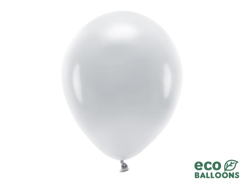 Feestbazaar Pastel Zilvergrijze Ballonnen Premium Organic (100st) online kopen