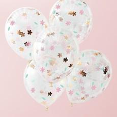 Confetti Ballonnen Bloemen (5st)