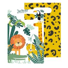 Uitdeelzakjes 'Get Wild' Jungle (8st)