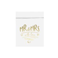 Verpakking zakjes 'Mr & Mrs' (6st)