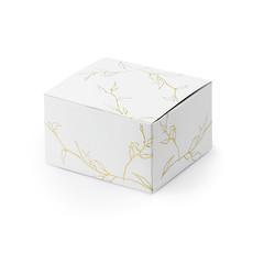 Traktatiedoosjes met gouden takjes print (10st)