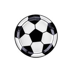 Voetbal gebaksborden (6st)