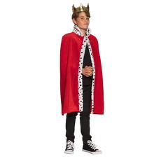 Koningsmantel Kind Rood Willem