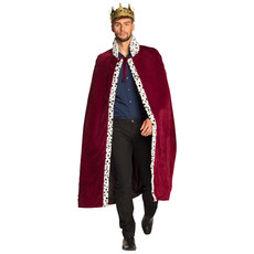 Koningsmantel Man Bordeaux