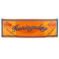 Koningsdag Banner oranje