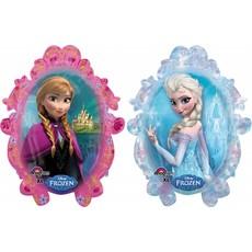 Folieballon Frozen Elsa en Anna XL - 63x78 cm
