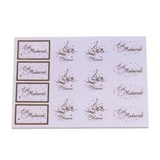 Eid Mubarak Cadeau Labels (14st)