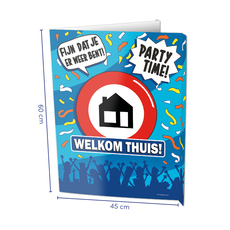 Raambord Welkom Thuis (60x45cm)