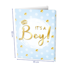 Raambord It's A Boy! (60x45cm)