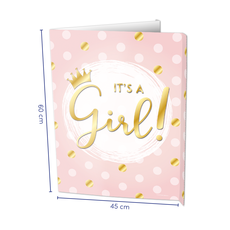 Raambord It's A Girl! (60x45cm)