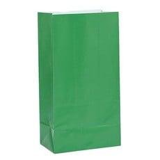 Papieren Giftbags Groen (12st)