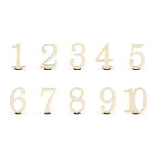 Tafelnummers Hout Elegant 10,5cm
