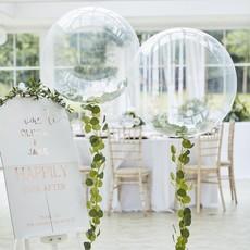 Orbz Ballon met bladslinger Botanical Bruiloft