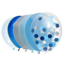Ballonnen Set Sky Blue Noah (10st)