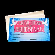 Cadeau Cheque Bruidspaar