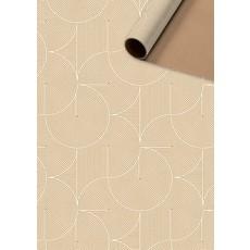 Rol Inpakpapier Modern Bruin