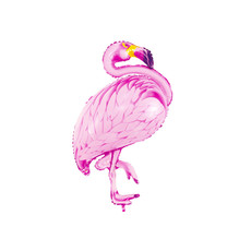 Folieballon Flamingo Pink (70x95cm)
