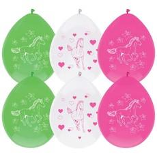 Feestballonnen Paarden (6st)
