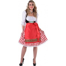 Tiroolse jurk met schort populair