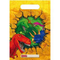 Uitdeelzakjes Dinosaurus (6st)