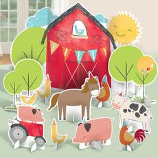 Tafeldecoratie Boerderij Happy Farm (11st)
