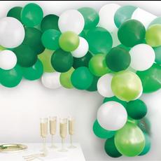 Ballonboog Set Groen Jungle (40st)