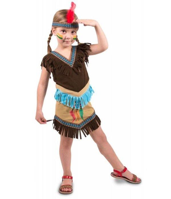 Indianen jurkje kind 2-delig