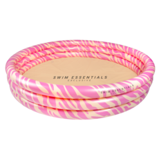 Kinderzwembad Zebra Roze Groot (150cm)