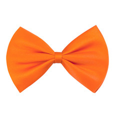 Vlinderstrik basic oranje