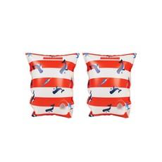 Walvis Baby Zwembandjes Rood Wit (2-6 Jaar)