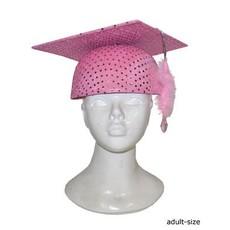 Professor hoed roze