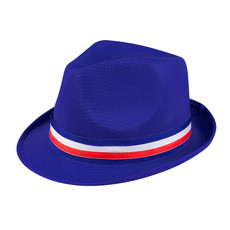 Trilby Hoed Frankrijk Blauw