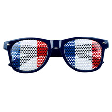Partybril Frankrijk Blauw