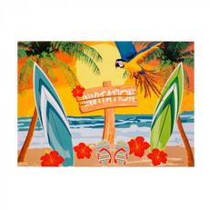 Uitnodigingen Beach Party (6st)
