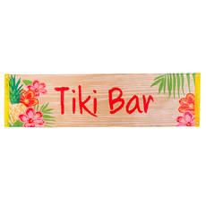 Banner Tiki Bar Tropical (50x180cm)