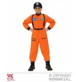 Astronautenpak kind oranje