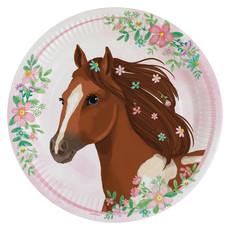 Feestborden Paarden Beautiful (8st)