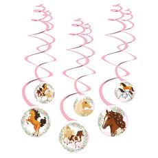 Hangdecoratie Paarden Beautiful (6st)
