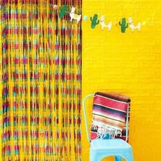 Folie Gordijn Decoratie Multikleur Viva La Fiesta