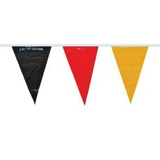 Vlaggenlijn Duitsland zwart/rood/geel (10m)